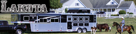 Lakota Horse Trailers, Living Quarter Horse Trailers