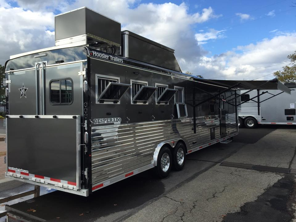 Hoosier Horse Trailers with Living Quarters