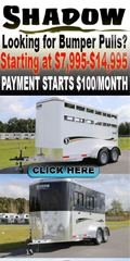 Shadow Trailer World - Bumper Pull Horse Trailers