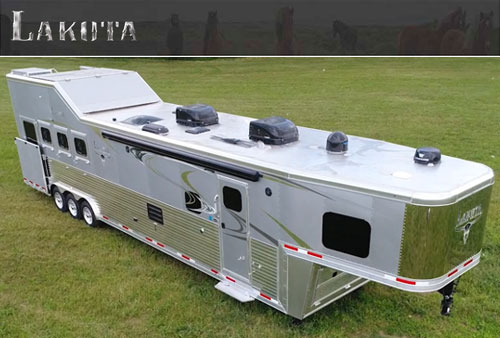 Lakota Horse Trailers - America's #1 Sold Living Quarters Horse Trailer